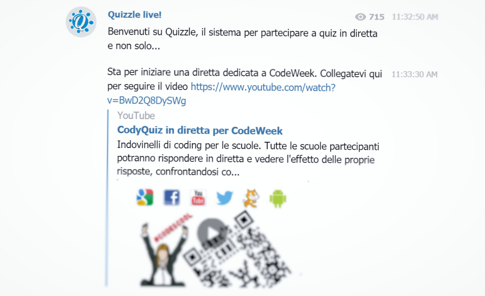 Scaling a Bot for the Europe Code Week | Informatica Applicata