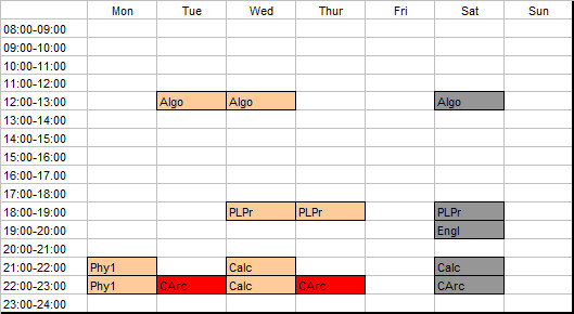 schedule-1st-year-2nd-semester-2012-2013