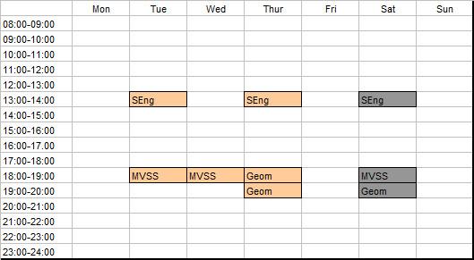 schedule-3rd-year-2nd-semester-2012-2013